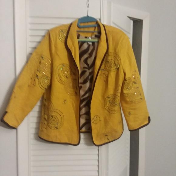 Silk Land Collection Jackets & Blazers - Silk Land Cardigan